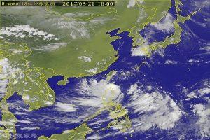 天鸽台风发陆警 台东屏东应防强风豪雨