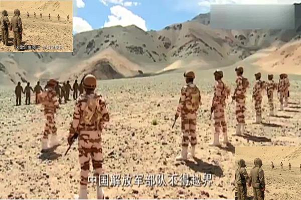 中印对峙掷石互殴 还有一段插曲视频曝光(视频)