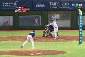 世大運棒球賽 台灣3比6輸韓國(直播回放)