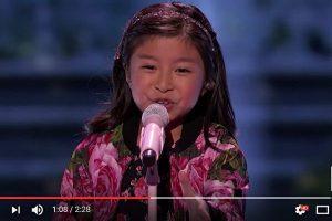 香港9岁女童再战美达人秀 这次唱啥?(视频)