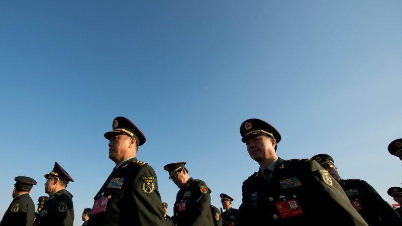 中共軍委高層大換血 最新將領名單曝光
