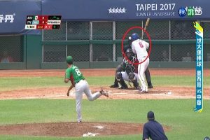 世大运棒球 触身球打出火气 台湾10:0扣倒墨西哥(精彩比赛回放)