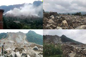 贵州毕节山崩埋村  已传3死32人失踪