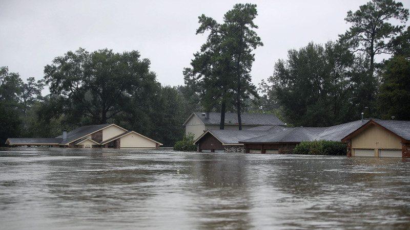 哈维豪雨泛滥 911求救电话被打爆