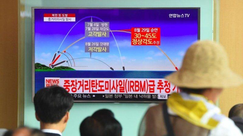 文在寅安倍通话 制裁朝鲜提升至最大限度