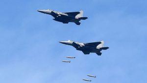 回應朝鮮射彈 韓空軍即刻轟炸演習(視頻)