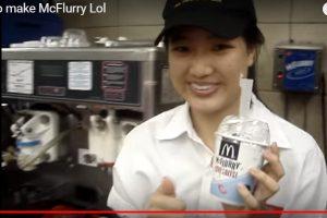 麦当劳冰炫风汤匙是方形的秘密 答案竟然是这个(视频)