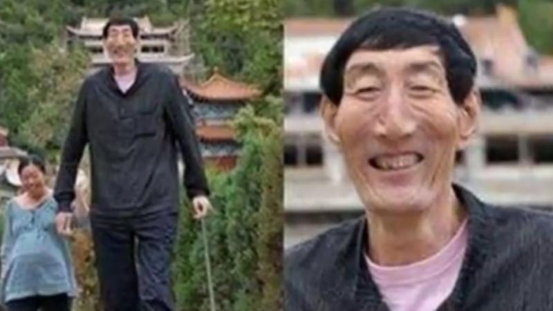 中国第一巨人是成吉思汗后代(视频)
