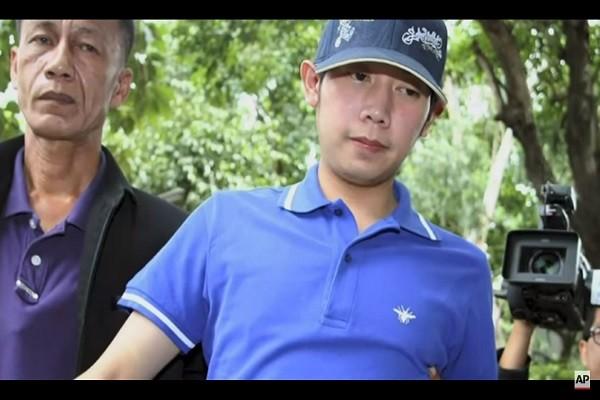 红牛富三代开跑车撞死人 出庭前出逃台湾后失踪