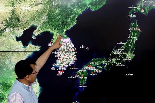 朝鮮宣布成功試爆氫彈  這是平壤第六次核試
