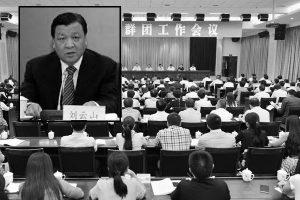 刘云山地盘出事 共青团一把手落选19大代表