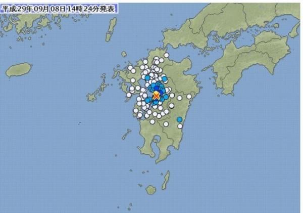 墨西哥剛震30分鐘後 日本熊本再震規模4.1
