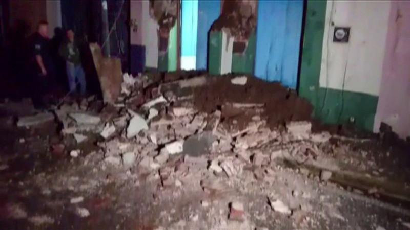 墨西哥8.4強震 總統親自監督災難回報(視頻)