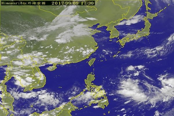 台风泰利晚间生成 不排除中台等级 13日起影响台湾