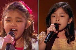香港和美国小女孩 对决《美国达人秀》(视频)