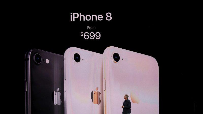 大陆iPhone 8被狂炒 首批价或破2万