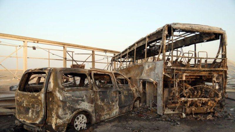 IS锁定餐厅岗哨攻击 伊拉克南部酿74死93伤