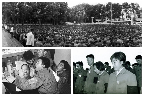 毛澤東當年「突然死亡」 全民皆哭 各種哭法都有