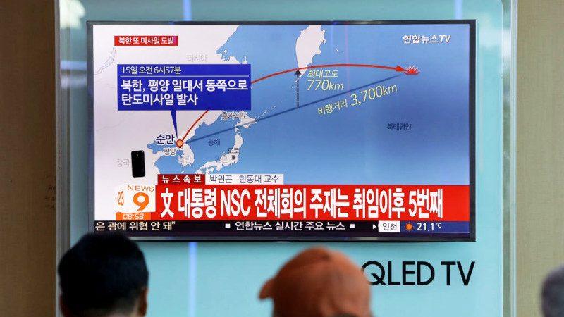 志在关岛!朝鲜射弹这次最远 日人:将来永无宁日