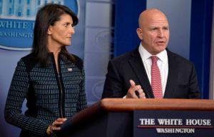 美驻联合国大使:制裁无效将由马蒂斯处理平壤