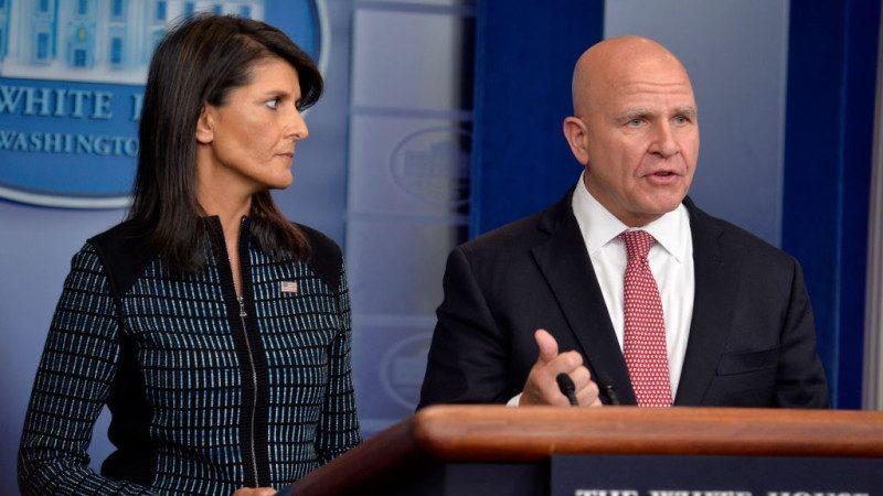 美駐聯合國大使:制裁無效將由馬蒂斯處理平壤
