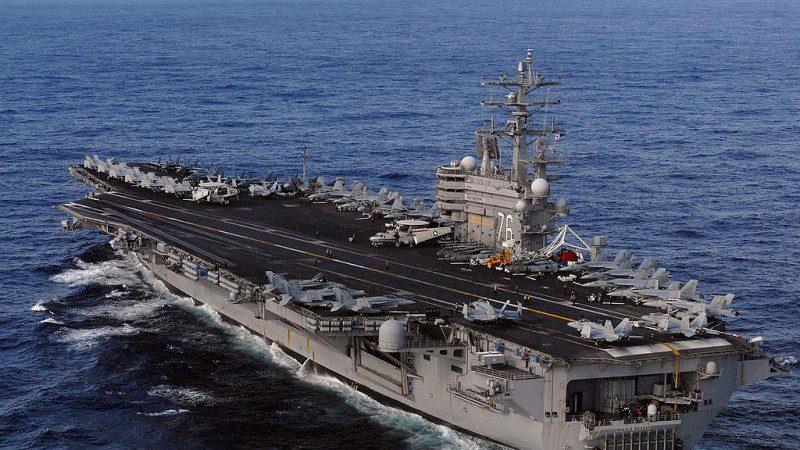 應付朝鮮挑釁 美核動力航母10月參與聯合軍演