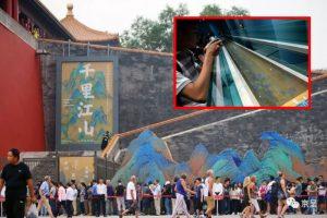「故宮跑」網絡大熱  民眾排隊3小時為看《千里江山圖》
