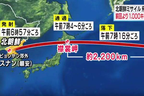 美日不击落朝鲜飞弹 专家揭真相