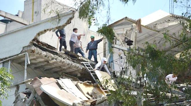 大地震32周年纪念日 墨西哥发生7.1级强震 至少217死