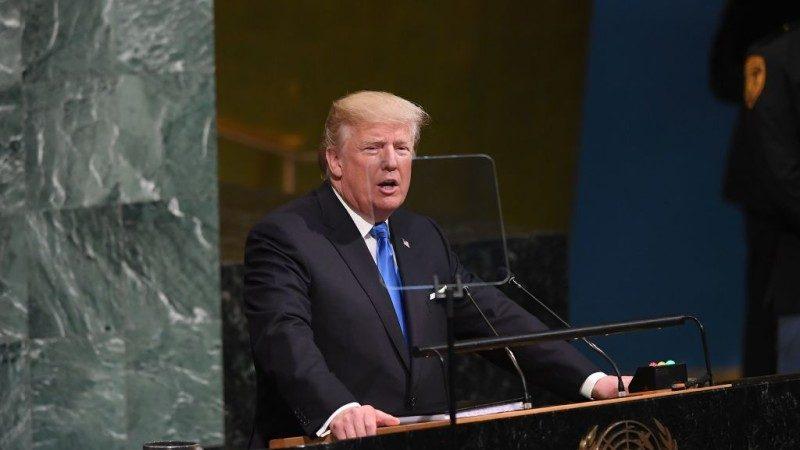 掷地有声 川普联大演讲精选:痛斥朝鲜 多次敲打中共