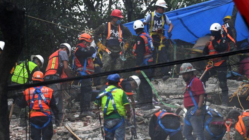 墨西哥强震 5名失联台侨确定全部罹难