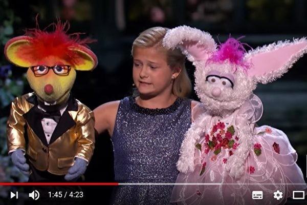 12歲女孩腹語技壓全場 《美國達人秀》奪冠