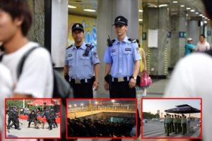 十九大臨近京城草木皆兵  京警取消休假並增派數千警力