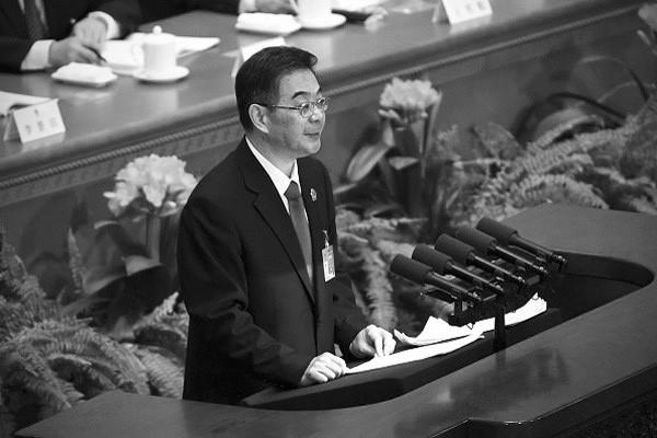 中共19大代表公布 最高法周強去向成謎