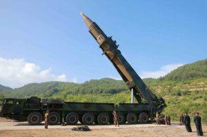 韓媒:朝鮮多枚飛彈從平壤研發機構移出