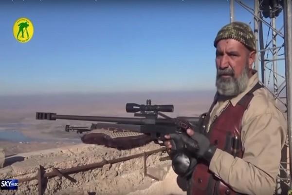 狙殺IS武裝份子 63歲神槍手戰役中喪生