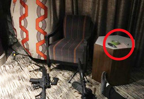 賭城槍手死亡現場照片流出 桌上疑似留下遺書