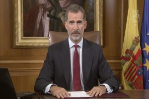 西班牙國王譴責:加泰隆尼亞公投非法、不負責任