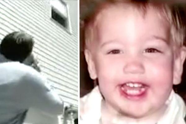 从2楼摔坠水泥地 2岁童全无恙:天使们抓住了我!(视频)