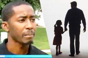 路遇父女同行 女孩唇語的兩個字 讓他立即報警