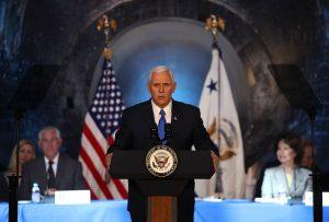 彭斯宣布美國將重返月球 批奧巴馬缺乏領導力