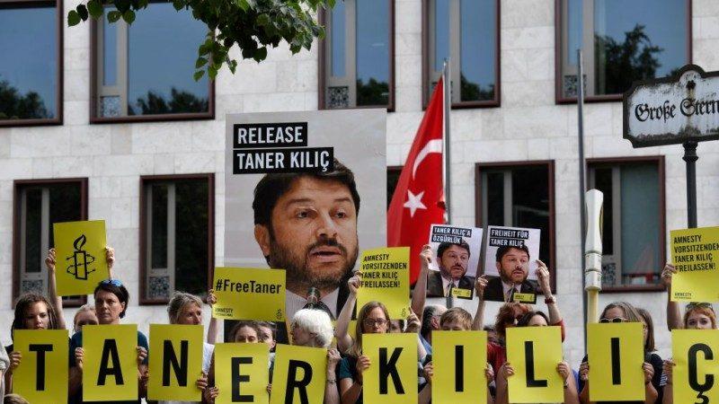 以支持恐怖組織為由 土耳其起訴國際特赦組織幹部