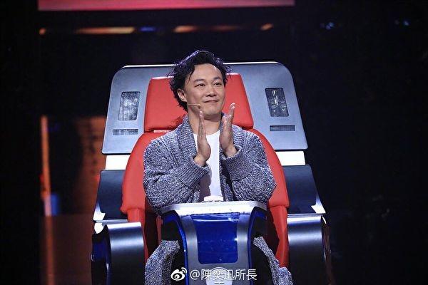陳奕迅曝《中國新歌聲》黑幕:導演叫按下鍵
