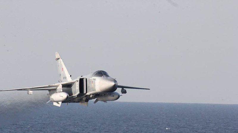 轰炸IS 俄战机滑出跑道坠毁 2飞行员罹难