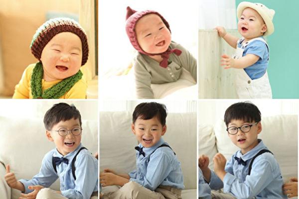 一暝大一吋5歲韓「國民三胞胎」 暴風長高帥氣亮相(視頻)
