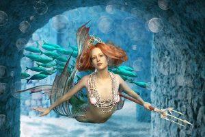 神秘的美人鱼 从古籍中渐渐走近人们的视线