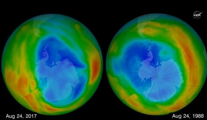 南極臭氧層破洞縮近30年最小 科學家:這是好事