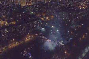 俄罗斯情报局重地 突发大火 官方称未有人死伤