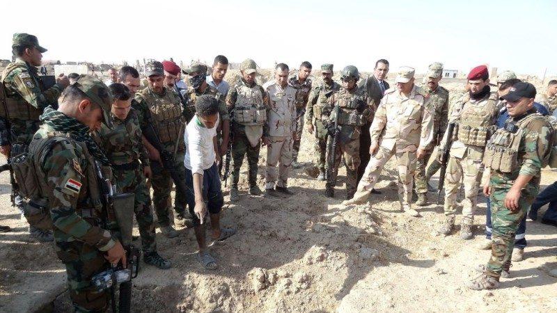 收復IS大片土地 伊拉克發現數十個亂葬崗