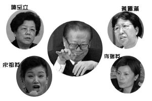 赵薇夫妇受罚牵出江泽民情妇背景 许宗衡代人坐牢?